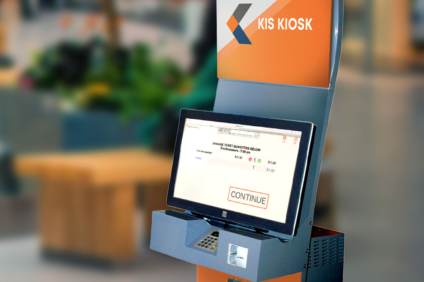 KIS Kiosk hardware and ticketing solutions